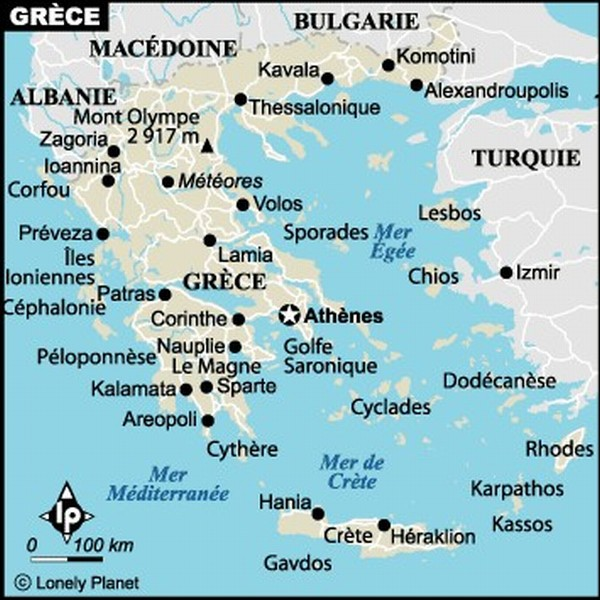 office de tourisme grece